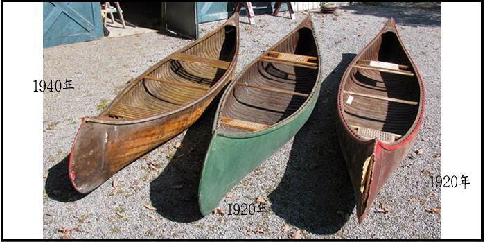 oldcanoe img - カヌー 色々な素材で作られたボート