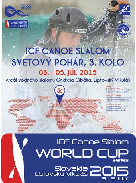 logo slawc3slovakia2015 - カヌーワールドカップ2015スロバキア 決勝結果速報
