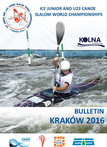 kra ju2016 affiche - 2016Junior & U23 Canoe Slalom World Championships