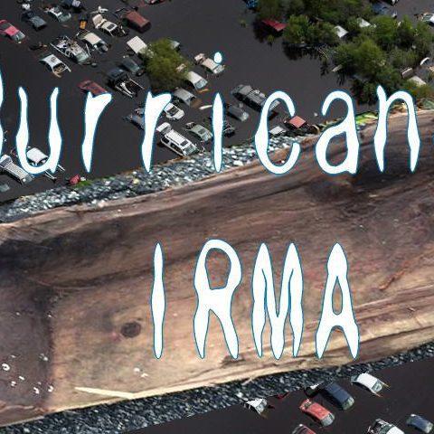 ハリケーンIRMAのおかげで出てきた歴史物