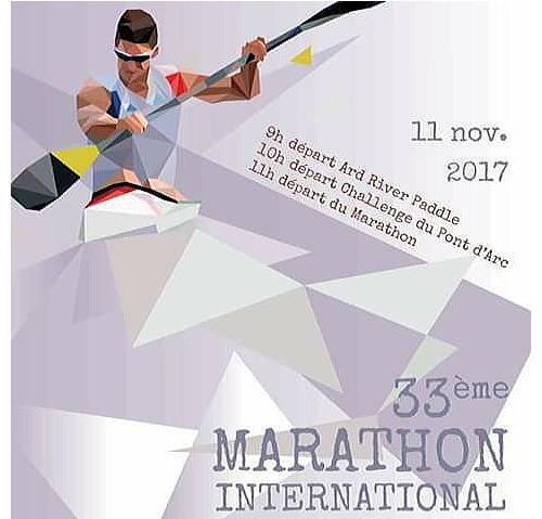 marat ard2017 afiche - フランス2017カヌーマラソンドゥラーデシッシュ