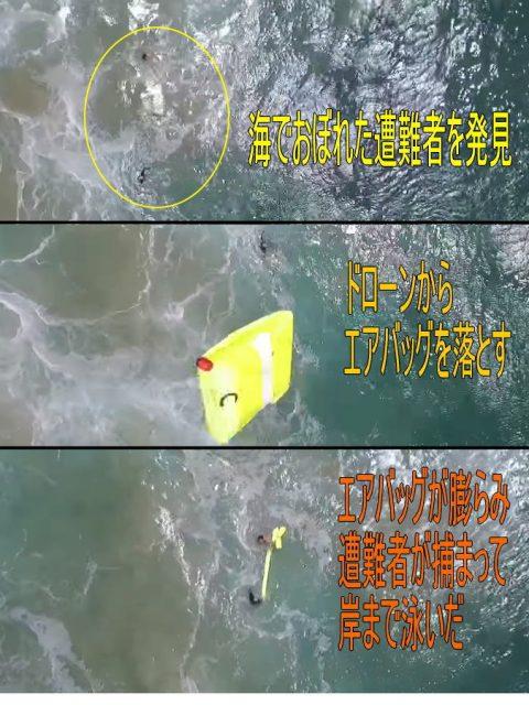 オーストラリアドローン人命救助成功とCK