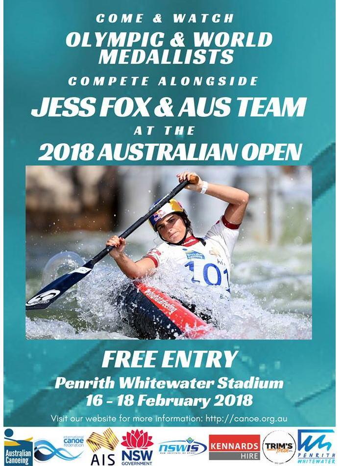 ausslm18 afiche - オーストラリアオープン2018スラローム