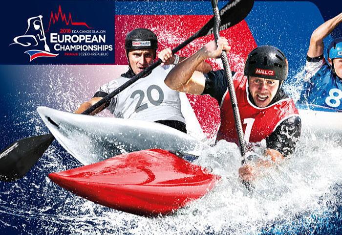 eca spr2018 afiche - 2018カヌー・カヤックスラローム ヨーロッパ選手権