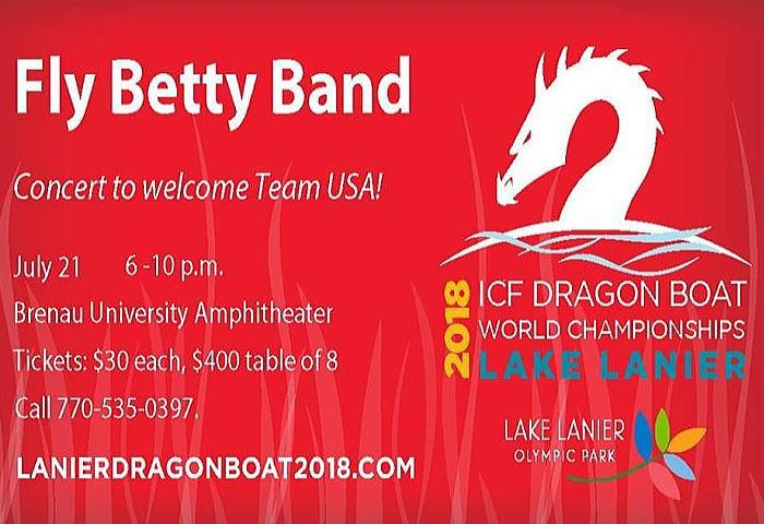 dragon afiche - 2018ドラゴンボート世界選手権