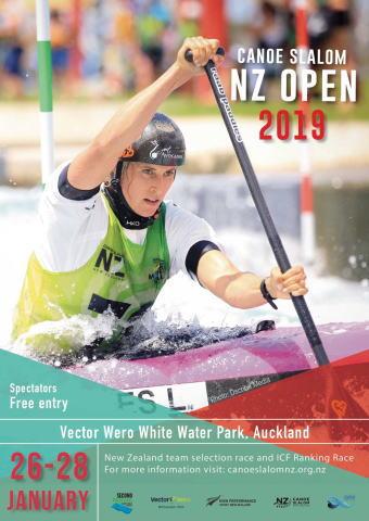 2019nz open slm - カヌースラローム競技ニュージーランドオープン2019