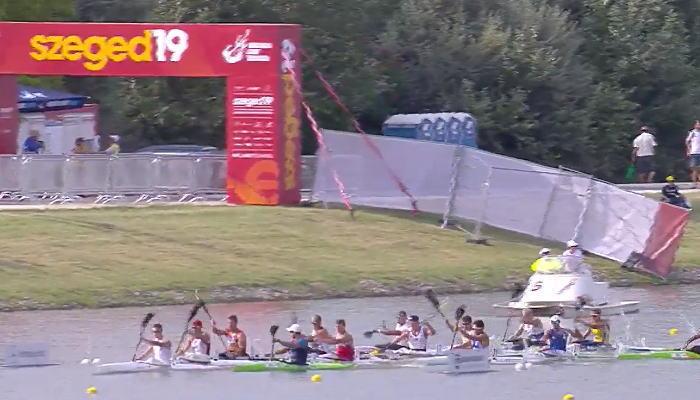 spr wch2019 5000k1m start - 2019カヌースプリント世界選手権激漕男子5000m決勝