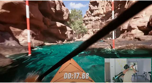 ckgame 001 - kayak バーチャル ダウンリバー出るのか?出ないのか?