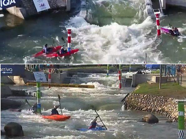 exslm gate 595x446 - カヌースラローム世界選手権2021カヌーやエクストリームの結果