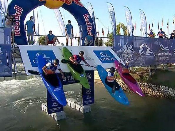 exslm startbord 595x446 - カヌースラローム世界選手権2021カヌーやエクストリームの結果