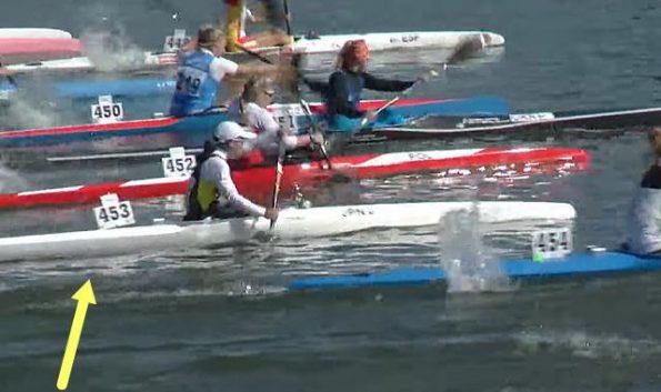ckmarathon1002 kurihara01 595x353 - 2021カヌーマラソン世界選手権ポーランド10月2日の日本選手の成績