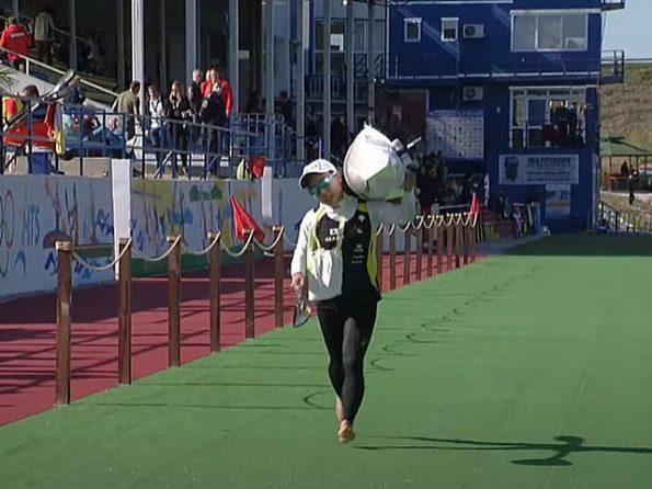 ckmarathon1002lastonekuriharapot 595x446 - 2021カヌーマラソン世界選手権ポーランド10月2日の日本選手の成績