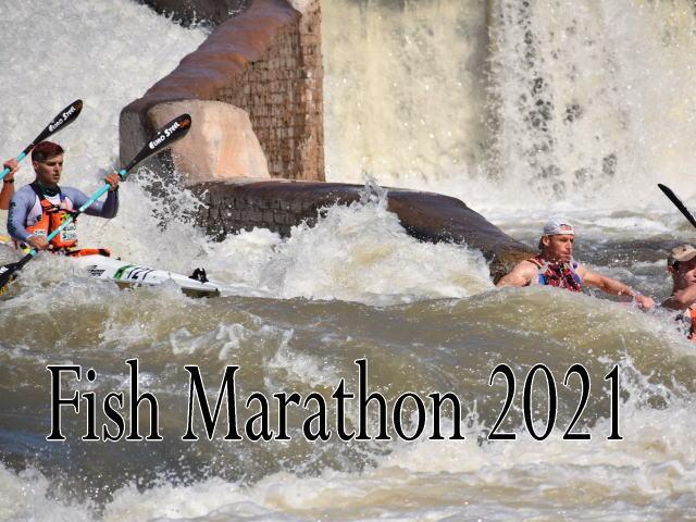 fichm 001 - 南アフリカ  フィッシュリバー川でカヌーリバーマラソン