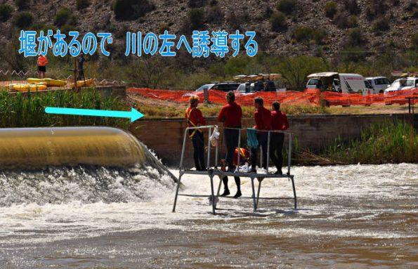 fichm 003 595x383 - 南アフリカ  フィッシュリバー川でカヌーリバーマラソン